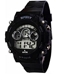 Pappi Boss Sports Watch Collections - Digital Black Dial Sports Watch For Boys, Men & Kids