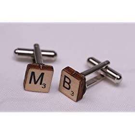 Click to order Scrabble cufflinks from Amazon!