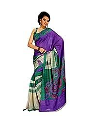Meher Bhagalpuri Silk Saree (SDE5062_Violet)