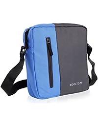 Kooltopp Men, Women, Girls, Boys Blue Polyester Sling Bag Walter Sling Bag, 11 Inch Tution Sling Bag, IPad Sling...