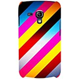 For Samsung Galaxy S3 Mini I8190 :: Samsung I8190 Galaxy S III Mini :: Samsung I8190N Galaxy S III Mini Stripes Pattern ( Stripes Pattern, Nice Pattern, Pattern, Stripes, Gradient ) Printed Designer Back Case Cover By FashionCops