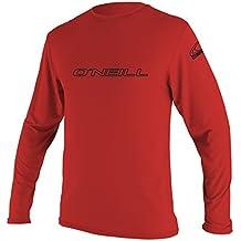O%27Neill O'Neill Wetsuits UV Sun Protection Mens Basic Skins Long Sleeve Tee Sun Shirt Rash Guard