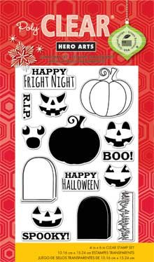Hero Arts Rubber Stamps, Fright Night