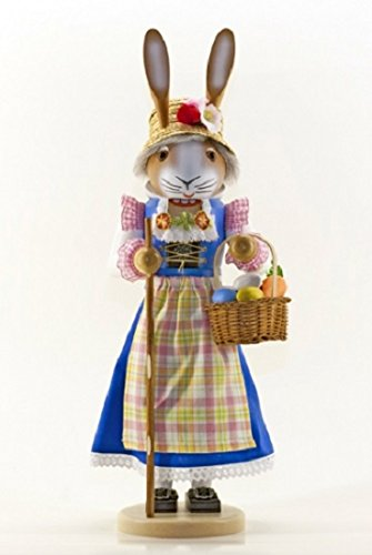 Ms. Easter Bunny German Nutcracker