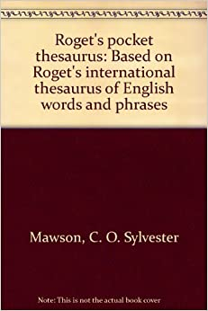 Roget's Thesaurus of English Words and Phrases by Peter Mark Roget (1992, Hardcover)
