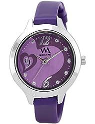 Watch Me Purple Rubber Analogue Watch For Women WMAL-099-PR