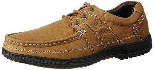Lee Cooper Men s Camel Leather Boat Shoes - 9 UK India (43 EU) Best ... c5688c6c02210