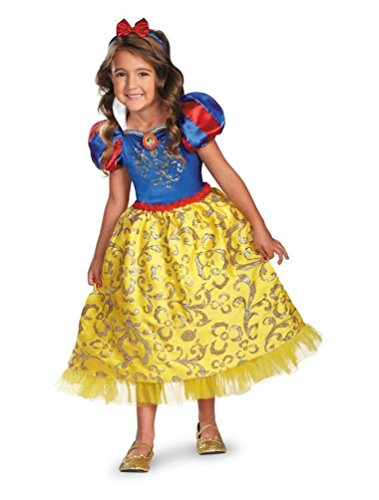 Snow White Sparkle Kids Costume deluxe