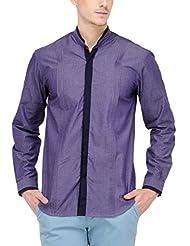 Yepme Men's Solid Cotton Shirt - YPMSHRT0465