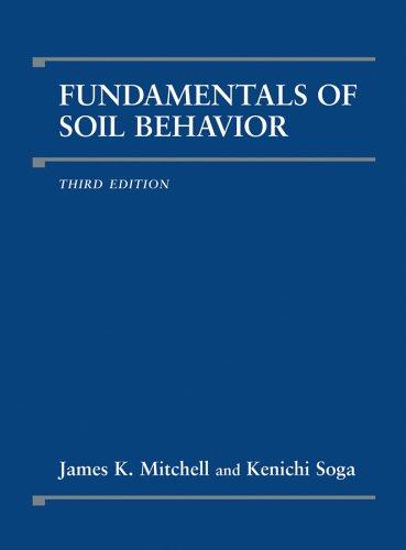 Fundamentals of Soil Behavior, 3rd Edition