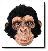 Happy Chimp Adult Animal Mask