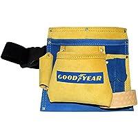 Goodyear 5 Pocket Leather Tool Bag