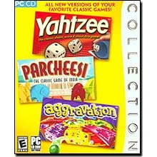 Order Parcheesi, Yahtzee and Aggravation for your PC from Amazon!