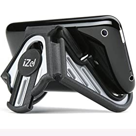 iZel - The Innovative Stand for Hands-free Viewing of Your iPhone®, iPod®, Blackberry®, Zune®, and Other Similar Devices