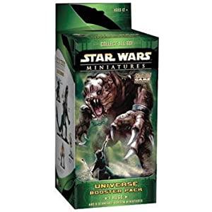 Click to buy Star Wars Miniatures Universe Booster Pack from Amazon!