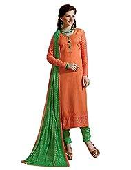 Mantra Fashion New Designer Embroidery Long A-Line Salwar Suit - B016F800AK