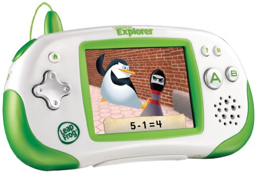 System Game molukso Leapster Explorer sa Pagkat-on, Green