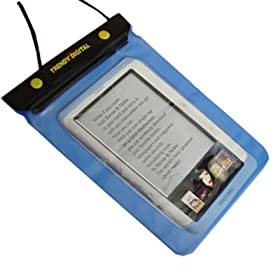 TrendyDigital WaterGuard Waterproof Case for Nook eBook Reader from Barnes & Noble, Blue Border