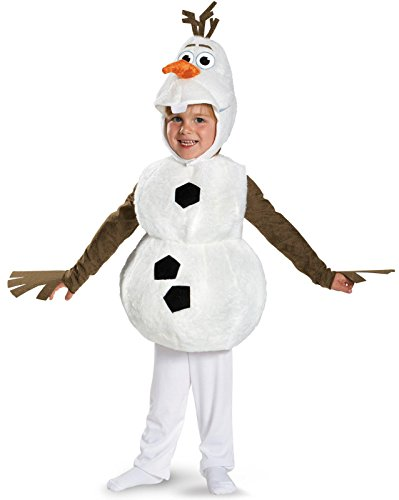 Olaf Deluxe Costume - Toddler Large