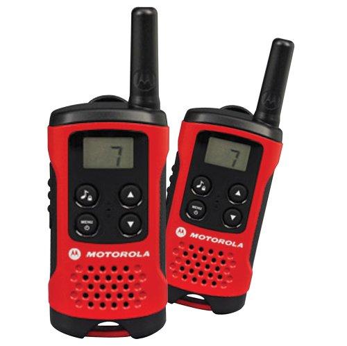 Motorola 59T40PACK - Emetteur radio émetteur-récepteur PMR et talkie-walkie, rouge