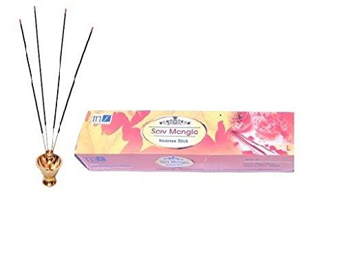 MAA SHARDA INDUSTRIES Perfumed Incense Sticks (Agarbatti) Pack Of 6-