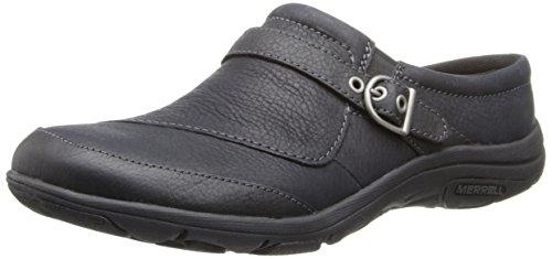 Merrell Women's Dassie Slide Slip-On Shoe,Black,10 M US