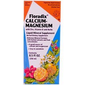 Floradix Calcium-Magnesium Liquid