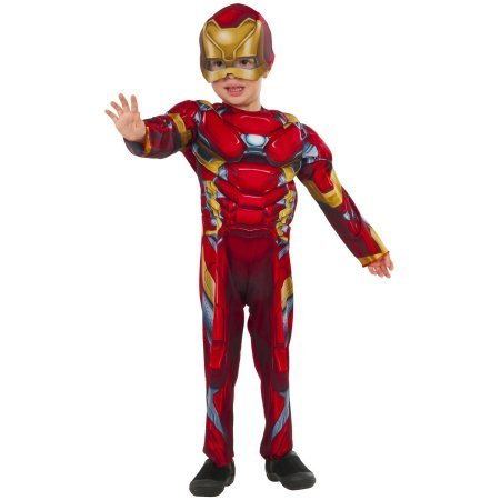 Iron Man Muscle Chest Toddler Costume