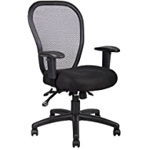 Boss Mesh Chair with 3 Paddle Mechanism