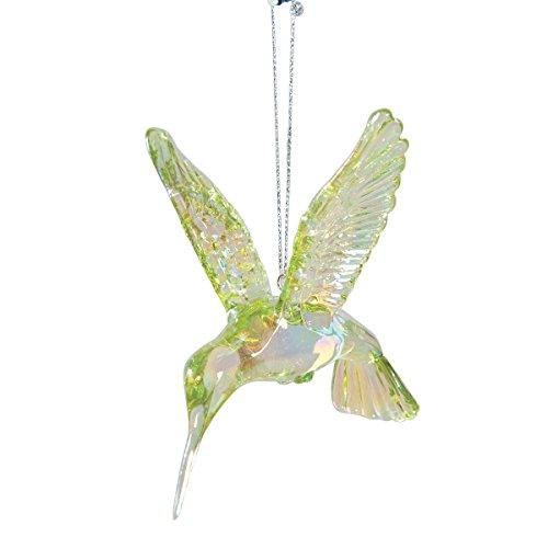 Glass Hummingbird Ornament