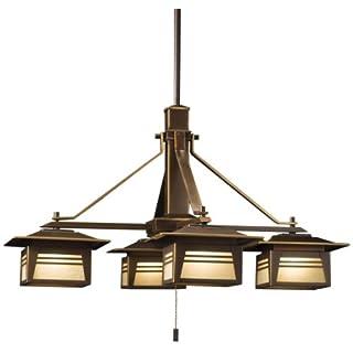 review buy kichler lighting 15409oz zen garden outdoor chandelier 12 volt specialty light olde bronze with textured amber review save on mamon buy