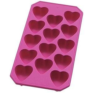 Heart-shaped ice trays