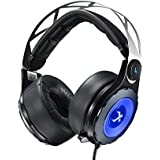 XIBERIA T18 USB Headset Surround Sound Over-ear Gaming Headset Stereo Headphones With Microphone Black