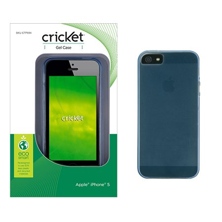 cricket iphone 5s cricket gel for iphone 5 5s blue sporting goods team 10458