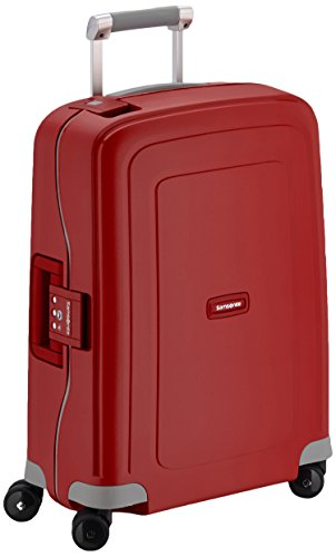 Samsonite Bagage Cabine S'cure Spinner - 55X40X20 , 34 L ,Rouge