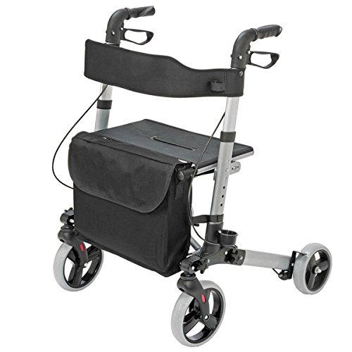 HealthSmart Ultra Compact Lightweight Rollator