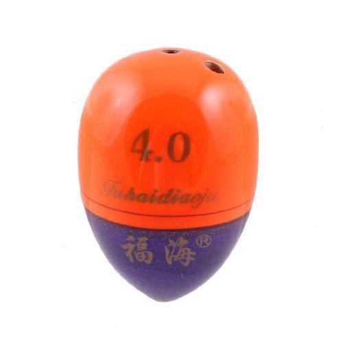 sourcingmap® Angelset, Orange, lila, ovale Form, Floating Bobber