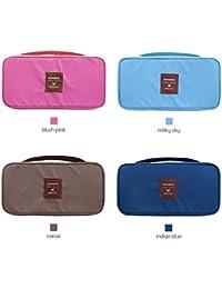 Multi Functional Travel Organizer Innerwear Cosmetic Make Up Bag Luggage Storage Case Bra Underwear Pouch