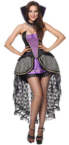 Halloween 2017 Disney Costumes Plus Size & Standard Women's Costume Characters - Women's Costume Characters Women's Deluxe Evil Queen Costumes Plus Size Halloweens Costumes Purple Large/X-Large