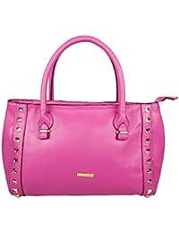 OsaizPink Polyurethane (Pu) Handbag