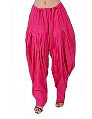 Stylenmart Women Pink Patiala Salwar
