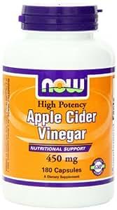 Amazon.com: Now Foods Apple Cider Vinegar, 450 mg Capsules