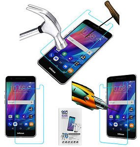 TEMPERED GLASS SHOCKPROOF SCREENGUARD For INFOCUS M812I MOBILE