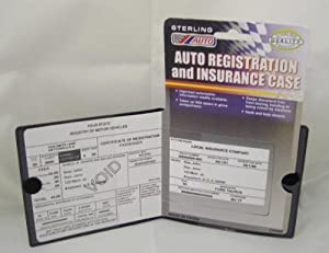 Amazon.com: Lot of 10 Auto Registration and Insurance Card