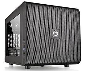 Thermaltake Core V21/Black/Win/SECC水冷対応キューブPCケース CS5068 CA-1D5-00S1WN-00