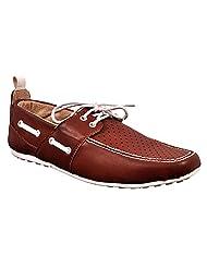 Aureno Men's Synthetic Sneakers - B011BGUW2C