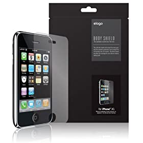 Elago Design - Apple iPhone 3G/3GS Scratch-Proof Front Screen Protection Film (Made in USA)