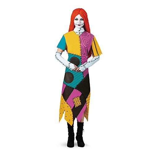 Halloween 2017 Disney Costumes Plus Size & Standard Women's Costume Characters - Women's Costume CharactersDisguise Women's Disney Nightmare Before Christmas Sally Classic Costume Standard & Plus Sizes