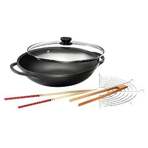 """Bock auf asiatisches Essen?! Karcher Aluguss wok """"Mai Lin"""" für 35 € inkl. VSK!"""