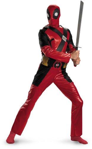 Disguise Men's Marvel Universe Deadpool Adult Costume